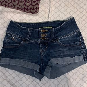 YMI wanna betta butt denim shorts